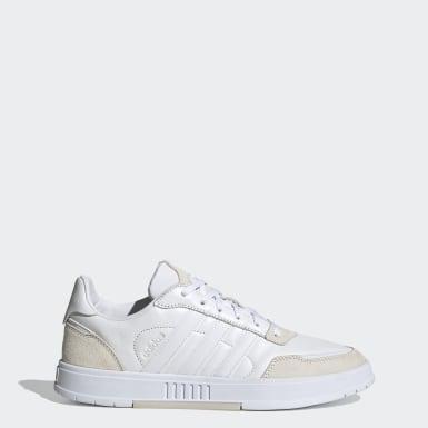 Tennis Hvid Courtmaster sko