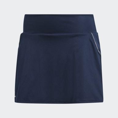 Kvinder Tennis Blå Club nederdel