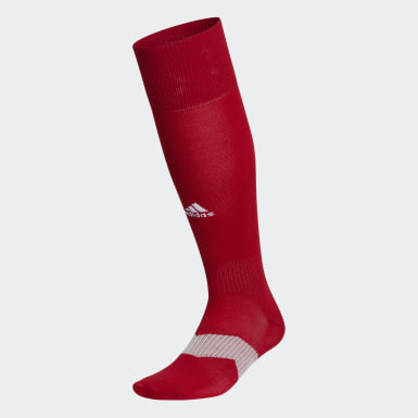 Training Red Metro Over-the-Calf Socks