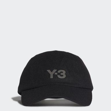 Y-3 černá Kšiltovka Y-3 CH1 Wool