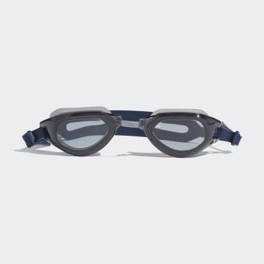 Vintersport Blå Persistar Fit Unmirrored svømmebriller