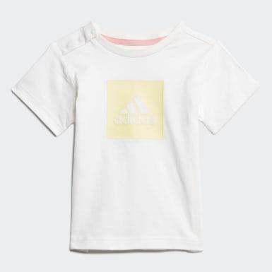 Conjunto de Verano Logo Blanco Niño Training