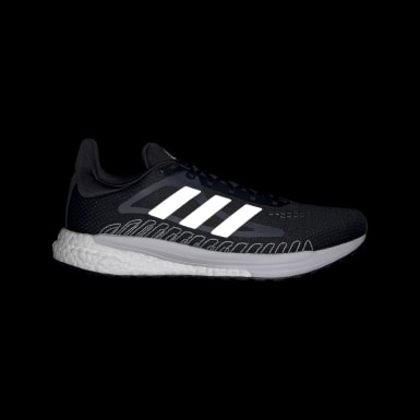 Men Running Black SolarGlide Shoes