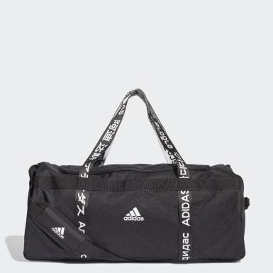 เทรนนิง สีดำ กระเป๋าดัฟเฟิลขนาดใหญ่ 4ATHLTS