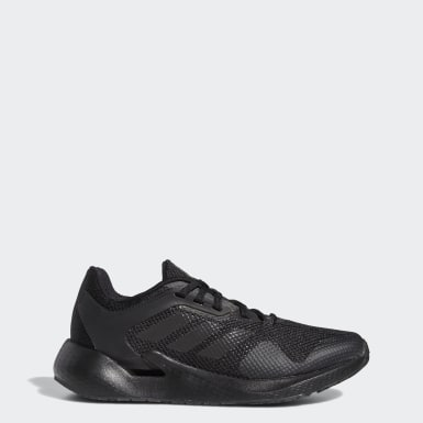 Women Running Black Alphatorsion Shoes