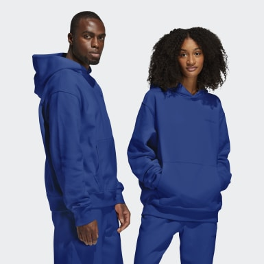 Originals Blauw Pharrell Williams Basics Hoodie (Uniseks)