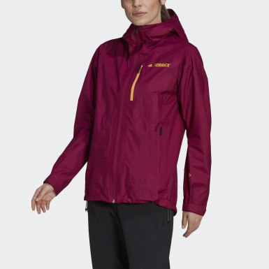 Women TERREX Purple Terrex Fastr GORE-TEX Rain Jacket