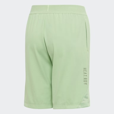 Boys Yoga Green HEAT.RDY Shorts