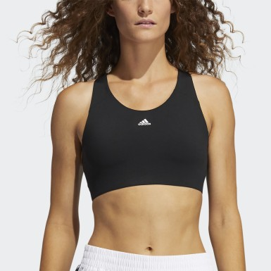 Women Running Black Ultimate Alpha Bra