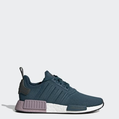 Women Originals Blue NMD_R1 Shoes