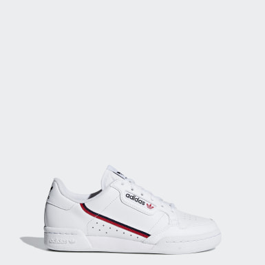 Youth 8-16 Years Originals White Continental 80 Shoes