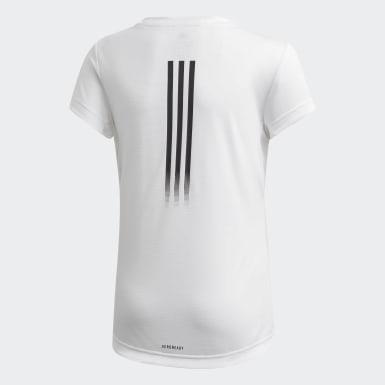Camiseta AEROREADY Blanco Niña Training