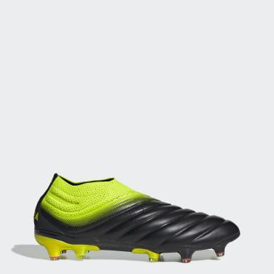 Men Football Black Copa 19+ Firm Ground Boots
