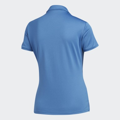 Playera Polo Tournament Azul Mujer Golf