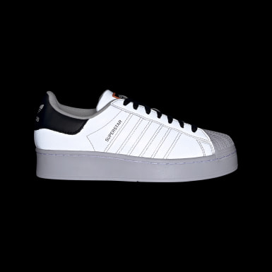 Women Originals Grey Superstar Bold Shoes