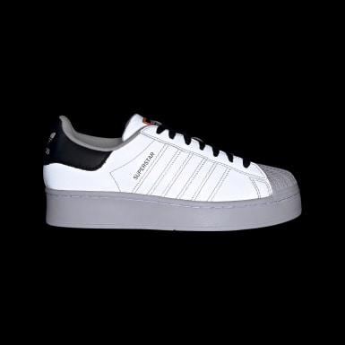 Women Originals Grey Superstar Bold Shoes
