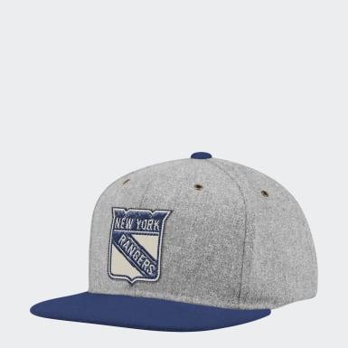 Men Hockey Rangers Strap-Back Cap