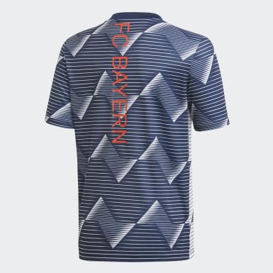 Camiseta calentamiento FC Bayern Blanco Niño Fútbol