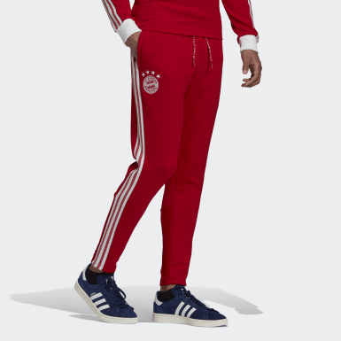 Pantalon FC Bayern Icons Rouge Hommes Football