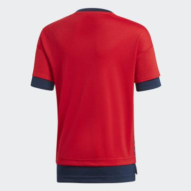 красный Домашняя предматчевая футболка Бавария Мюнхен