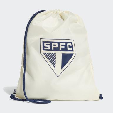 Bolsa de Academia do São Paulo FC (UNISSEX) Bege Futebol