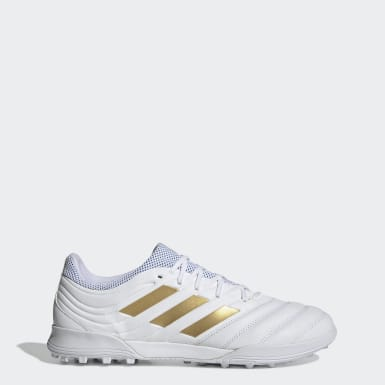 Football White Copa 19.3 Turf Boots