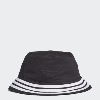 Reversible Velvet Bucket Hat Czerń