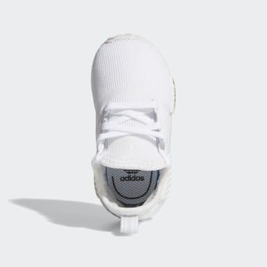 Chaussure NMD_R1 blanc Bambins & Bebes Originals