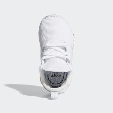 Infant & Toddler Originals White NMD_R1 Shoes