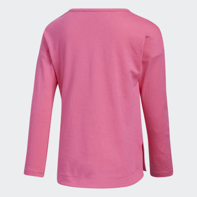 Children Training Pink Slit Tee