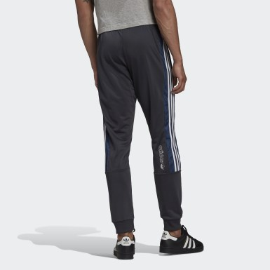 Men's Originals Grey BX-20 Graphic Track Pants