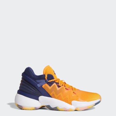 Basketball D.O.N. Issue #2 Schuh Orange
