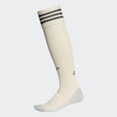 Football Beige Manchester United Away Socks