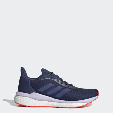 Women Running Blue SolarDrive 19 Shoes