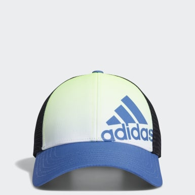 Boys Golf Blue Gradient Trucker Cap