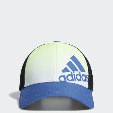 Boys Golf Blue Gradient Trucker Cap