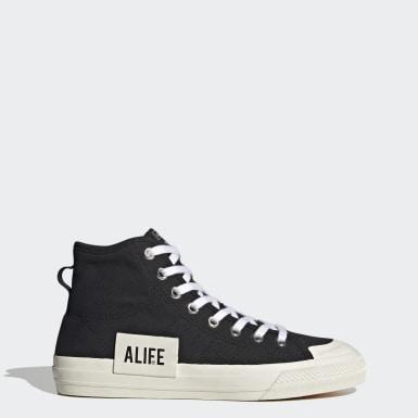 Chaussure Nizza Hi Alife Noir Originals