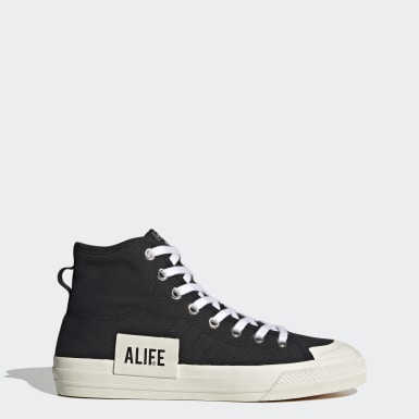 Scarpe Nizza Hi Alife Nero Originals
