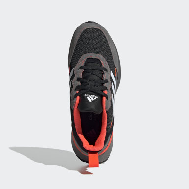 Kids Running Black RapidaRun Elite Shoes