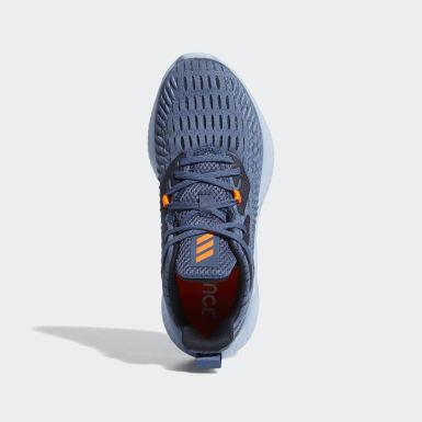 Kids Running Blue Alphabounce+ Run Shoes
