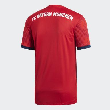 Erkek Futbol Kırmızı FC Bayern İç Saha Forması