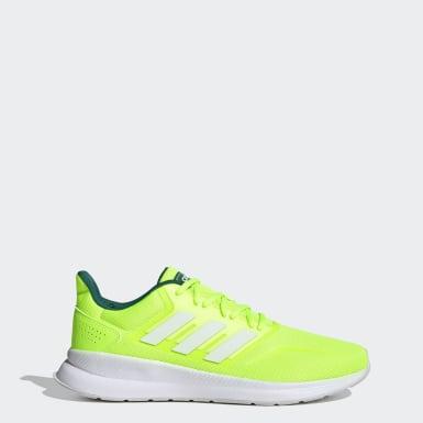 Tenis Runfalcon Verde Hombre Running