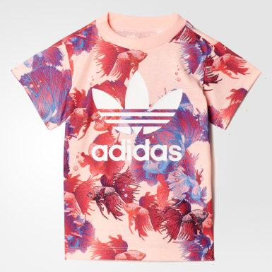 разноцветный Комплект: футболка и леггинсы Trefoil