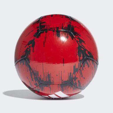 Muži Futbal červená Lopta adidas Glider 2