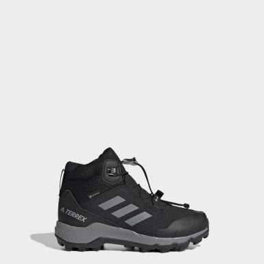 Çocuklar TERREX Siyah Terrex Mid GORE-TEX Yürüyüş Ayakkabısı