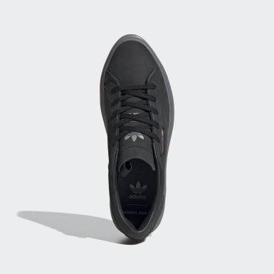 ผู้หญิง Originals สีดำ adidas SLEEK SUPER W AC