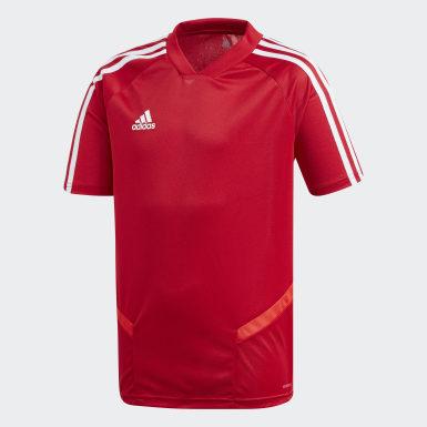 Kinderen Training Rood Tiro 19 Training Voetbalshirt