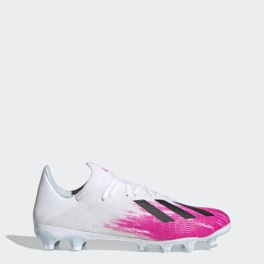 Fodbold Hvid X 19.3 Multi-Ground støvler