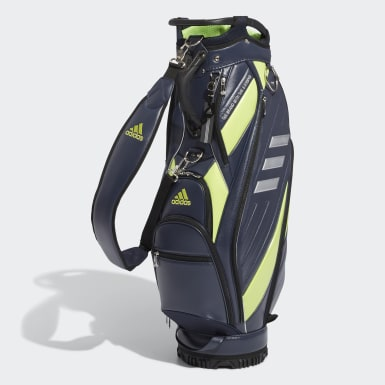 Men Golf Blue 3-Bars Caddie Bag