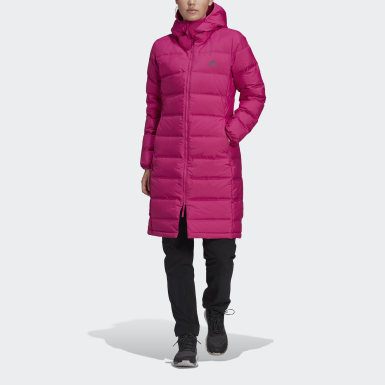 Women Urban Outdoor Pink Helionic Down Parka